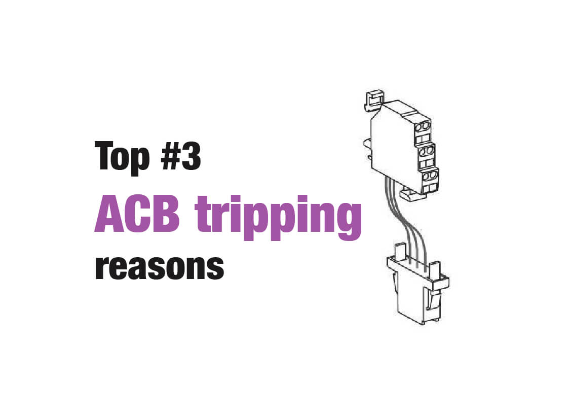 ACB Tripping Reasons