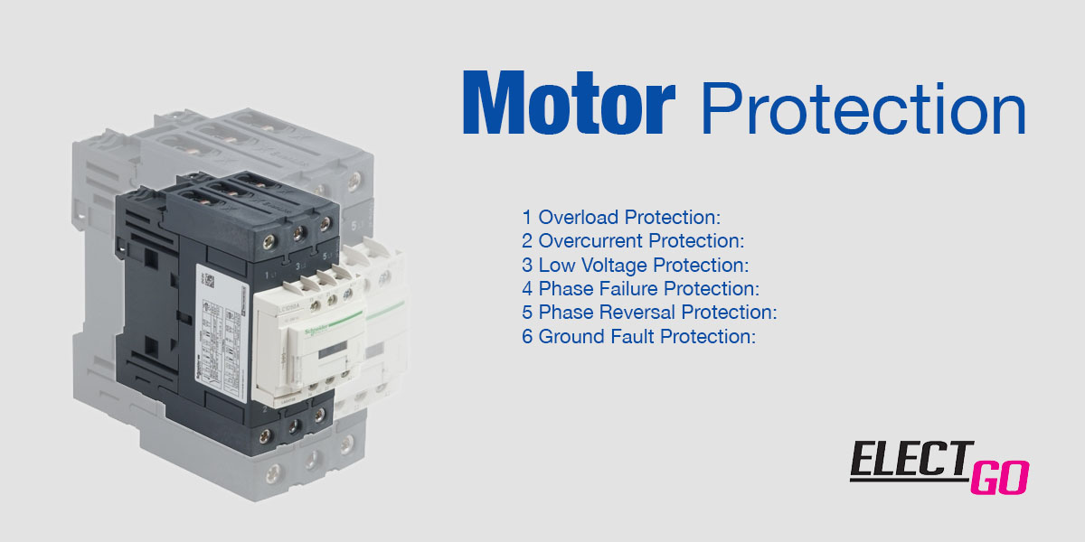 【 Motor Protection 】#6 Methods to protect a motor from specialist