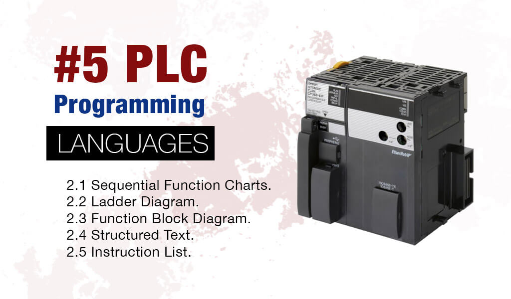 #5 types of PLC programming languages