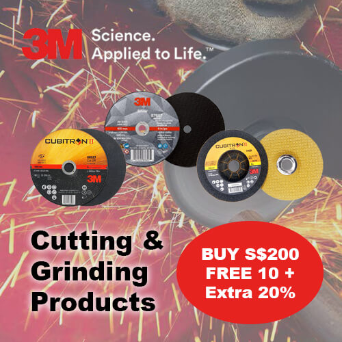 3M Cutting & Grinding Product Promotion
