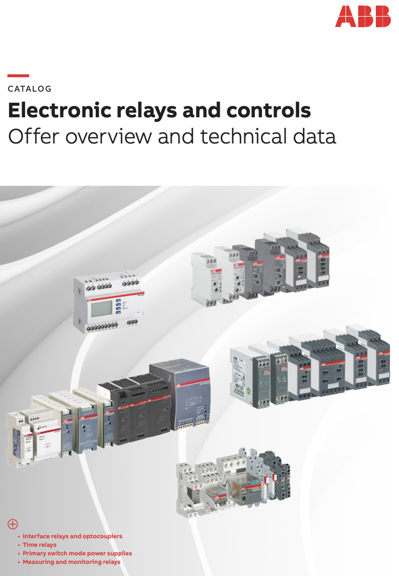 Electronics Relay and Control Catalog