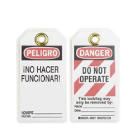 Lockout Tagout Labelling
