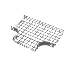 T-fitting cable basket